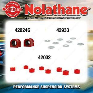Front Nolathane Suspension Bush Kit for DAIHATSU FEROZA F-300 F-300B F-310 4WD
