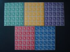 FINLAND 1945 STOCK 5 x 25 STAMPS MNH**