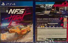 NFS NEED FOR SPEED HEAT PS4 VERSIONE ITALIANA NUOVO