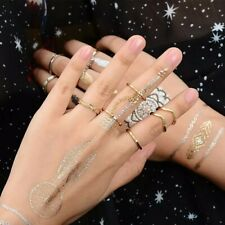 6 pc Gold Mid Ring Boho Finger Set Womens Jewelry various designs