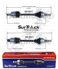 For Saturn Vue FWD/AWD 04-07 3.5L V6 Pair of Front CV Axle Shafts SurTrack Set