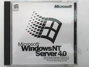 Windows NT Server 4.0 Terminal Server Edition Full Install Version w/ License