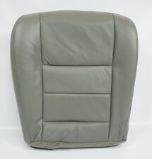 2004 2005 2006 2007 Ford F250 F350 Lariat Driver Bottom Leather Seat Cover Gray