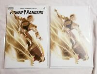 POWER RANGERS #1 MIGUEL MERCADO VIRGIN VARIANT SET LIMITED NM+ IN MYLAR 🔥