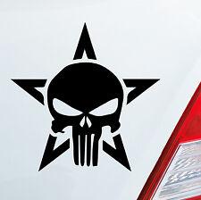 Auto pegatinas The Punisher Marvel Comic sticker scull calavera Vengadores héroe 181