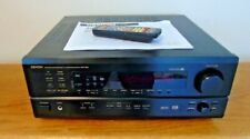 DENON AVR-1801 AUDIO / VIDEO CONTROL CENTER RECEIVER -- SERVICED --