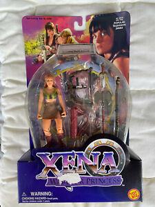 VTG Xena Warrior Princess Gabrielle Action Figure Orphan of War Spinning Staff