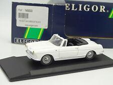 Leader Résine 1/43 - Peugeot 404 Cabriolet Blanche