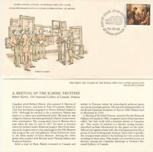 "FLEET WOOD, CANADA FDC, 1571 INTL. COUNCIL OF MUSEUMS,""ROBERT HARRIS"""