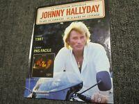 "CD-LIVRE ""JOHNNY HALLYDAY - PAS FACILE (1981)"""