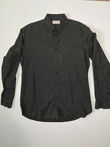 Saint Laurent Fw15 Stars Shirt - size 41 /16 Hedi Slimane