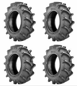 4 BKT 35x9.5-18 Deep Lug ATV UTV Side-by-Side 8 ply Tire 9.5-18 94034246