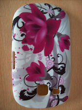 Case for LG 300 C310 Town Gel Skin Cover Purple Bloom New