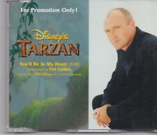 Phil Collins-Youll Be In My Heart promo cd single