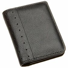 NEW CROSS AUTOCROSS LEATHER GUSSETED FOLDED ID WALLET WITH PEN BLACK AC192-1