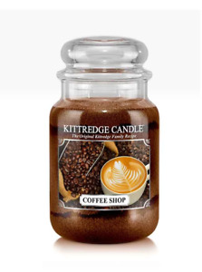 ☆☆COFFEE SHOP☆☆ LARGE COUNTRY CANDLE JAR 23OZ.~☆☆FREE FAST SHIPPING