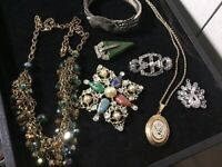 Antique Vintage Estate Jewelry High End Lot #15 Wearable Collectible