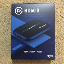 NEW Elgato HD60 S Game Capture Streamer Black IN HAND USB 3.0❗️FREE SHIPPING!!