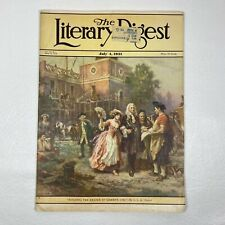 Vintage July 1931 THE LITERARY DIGEST Magazine German WWI WWII RCA Gillette Ads