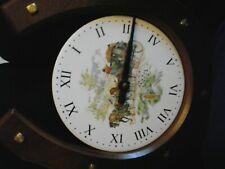 wooden horseshoe clock