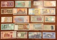 Lot Of 20 X World Banknotes. Collectable. All Different. Uncirculated Set.
