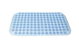Anti Slip Bath Mat - Blue- 60 x 38 cm