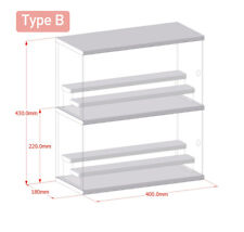 Multi-layer stackable toy storage display box, type B