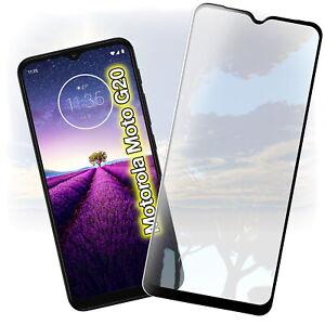 2x Für Motorola Moto G20 Panzerfolie Displayschutz Glas Schutzglas Schutz Folie