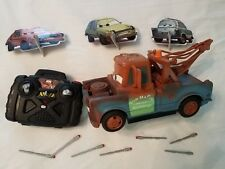 Cars Tow Mater RC missile firing truck Air Hogs Disney Pixar remote control toy