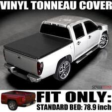 Hidden Snap Vinyl Tonneau Cover 04+ Ford F150 Standard/Extended/Crew Cab 6.5 Ft
