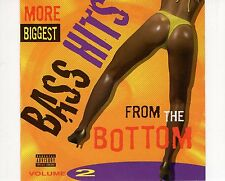 CD MORE BIGGEST BASS HITS	from the bottem volume 2 EX  (A0215)