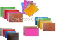 5 SHEETS A4 DOVECRAFT GLITTER CARD YOUR CHOICE OF COLOUR ASSORTED COLOURS 220GSM