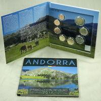 ANDORRA MÜNZEN KURSMÜNZENSATZ KMS COINS COINSET 2017 BU ST 1 CENT - 2 EURO 3,88