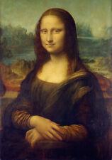 Old Masters Canvas *Enigma of Mona Lisa*Leonardo da Vinci Circ.1500's. Studio UK