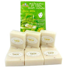 12 BARS JASMINE RICE MILK SOAP K.BROTHERS BATH BODY WHITENING COLLAGEN +TRACK