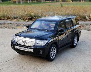 1:24 Scale Diecast Alloy Static Car Model Display For TOYOTA Land Cruiser Prado