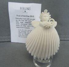 "2010 Margaret Furlong Fruit Of The Vine 2"" Angel Ornament"