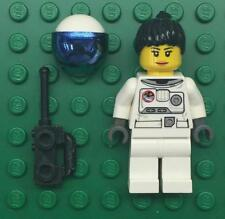 Lego Female Astronaut Minifig Lot: town city space port shuttle girl woman lady