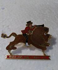 Lions Club Pin Redbud Lubbock Texas
