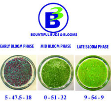 High Intensity Bloom Cycle Soluble Fertilizer for Hydroponic or Soil