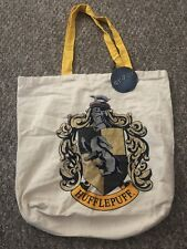 Primark Official Harry Potter 100% Cotton Branded Hufflepuff House Tote Bag