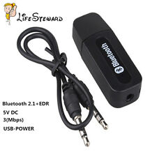 Chic 3.5mm Wireless Bluetooth USB Audio Stereo Music Receiver Adapter Mic Dongle