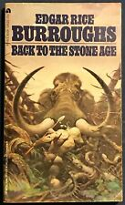 Back To The Stone Age  Edgar Rice Burroughs  Ace Paperback Book  Frazetta Cover