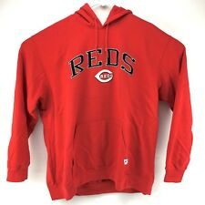 Cincinnati Reds MLB Baseball Stitched Pullover Sweater Hoodie Size XL? Red