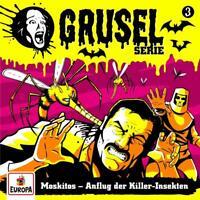 GRUSELSERIE - 003/MOSKITOS-ANFLUG DER KILLER-INSEKTEN   CD NEW