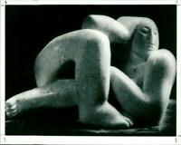 Sculpture - Vintage photograph