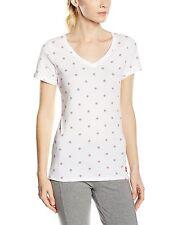 Nike AF1 tiene suela por todo impresión de mujer T-Shirt Blanco