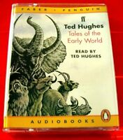 Ted Hughes Reads Tales Of The Early World Creation Stories 2-Tape UNAB.Audio