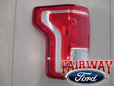 15 thru 17 F-150 OEM Genuine Ford Tail Lamp Light Driver LH without LED & Radar