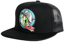 New Metal Mulisha YOUTH Boys / Girls Black Trucker Baseball Hat Skull Motocross